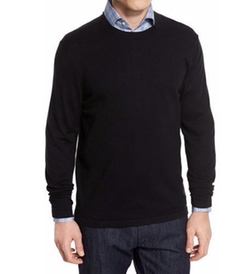 Cashmere-Silk Crewneck Sweater by Neiman Marcus in Modern Family