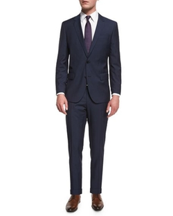 Huge Genius Slim-Fit Basic Suit by Boss Hugo Boss in Guilt