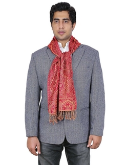 Paisley Design Indian Scarf by ShalinIndia in New Girl