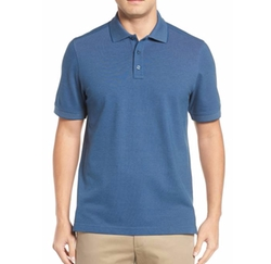 'Classic' Regular Fit Oxford Piqué Polo Shirt by Nordstrom Men's Shop in Downsizing