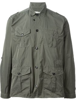 Lightweight Military Jacket by Oliver Spencer in Birdman