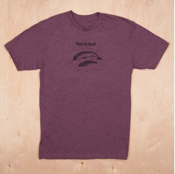 Anatomy Of A Narwhal Unisex T-Shirt by Cellar Door Mercantile in The Flash