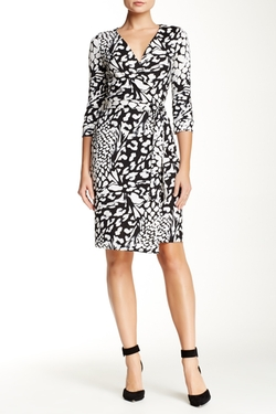 New Julian Two Printed Wrap Dress by Diane von Furstenberg in Jessica Jones