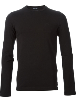 Chest Logo T-Shirt by Armani Jeans in Man of Tai Chi