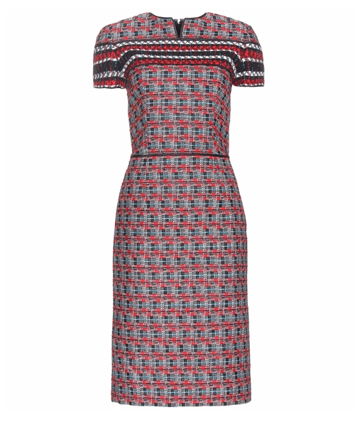 Cotton And Wool-Blend Pencil Dress by Oscar De La Renta in The Good Wife