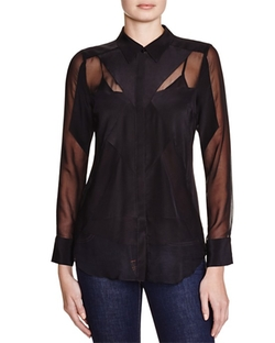 Button Down Blouse by Charlie Jade in The Flash