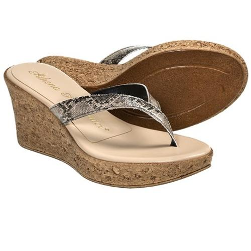 Aloha Wedge Sandals by Athena Alexander in Couple's Retreat