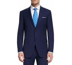 Sienna Contemporary-Fit Solid Two-Piece Travel Suit by Canali in Arrow