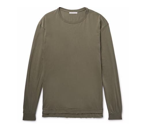 Mercer Cotton-Jersey T-Shirt by John Elliott in Keeping Up With The Kardashians - Season 12 Episode 19
