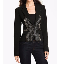 'Fame' Embellished Blazer by Nanette Lepore in Gossip Girl