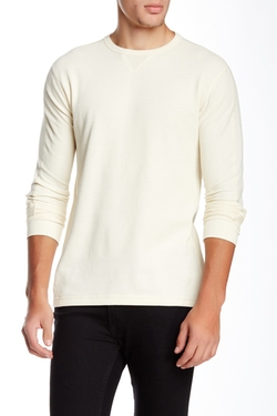 Thermo Crew Neck Sweater by Billy Reid in New Girl