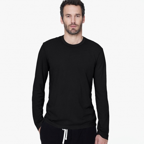 Long Sleeve Crew Neck T-Shirt by James Perse in Straight Outta Compton