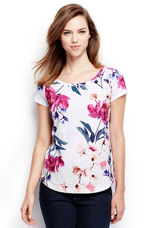 Art T-Shirt by Lands' End in Crazy, Stupid, Love.