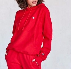 Reverse Weave Hoodie Sweatshirt by Champion + UO in Keeping Up With The Kardashians