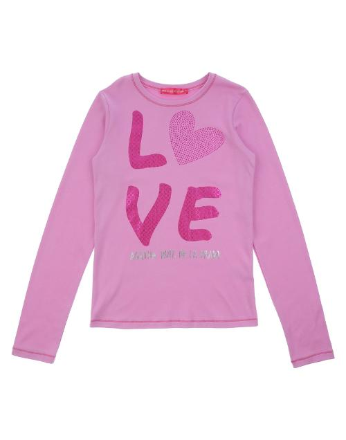 Girl's Long-Sleeve T-Shirt by Agatha Ruiz De La Prada in Addicted