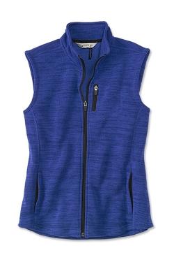 Passport Adventure Fleece Sweater Vest by Orvis in The Visit