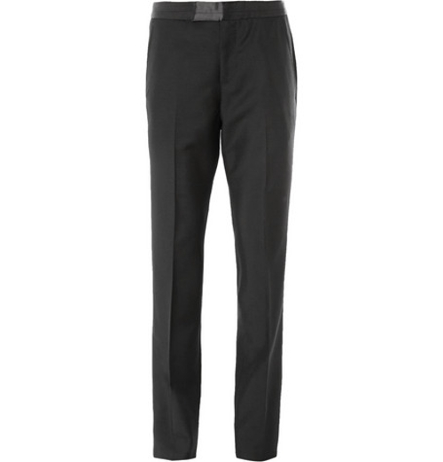 Mohair Tuxedo Trousers by Alexander McQueen in Furious 7