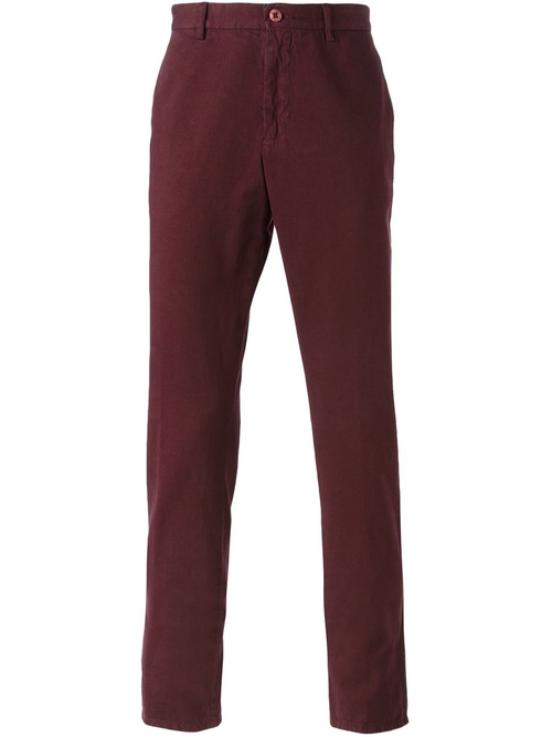 Slim Chino Trousers by Etro in Scream Queens