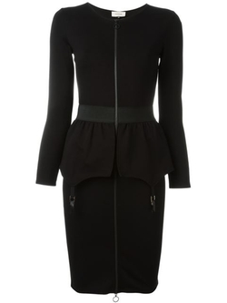 Fitted Peplum Dress by Murmur in The Good Wife