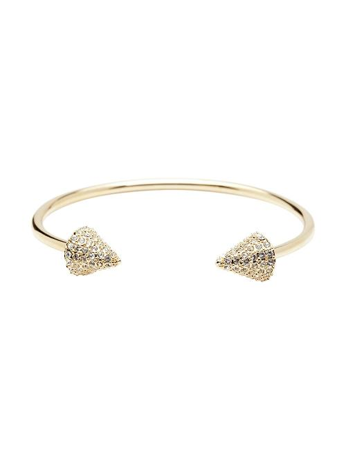 Pave Double Header Spike Bracelet by CC Skye in The Other Woman