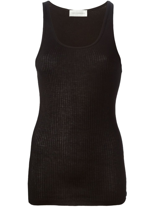 Rib Tank Top by Faith Connexion  in Keeping Up With The Kardashians - Season 11 Episode 13