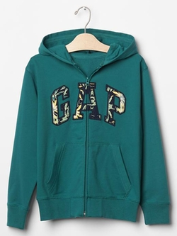 Logo Zip Hoodie by Gap in 99 Homes