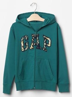 Logo Zip Hoodie by Gap in 99 Homes