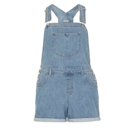 Denim Dungaree Shorts by Dorothy Perkins in Lady Dynamite -  Preview