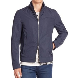 Solid Two-Way Zip Jacket by Hugo Boss in Supergirl