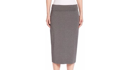 Solid Pencil Skirt by Eileen Fisher in Suits