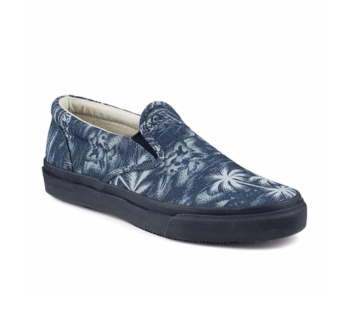 Striper Island-Print Slip-On Loafers by Sperry in Unbreakable Kimmy Schmidt - Season 2 Episode 1