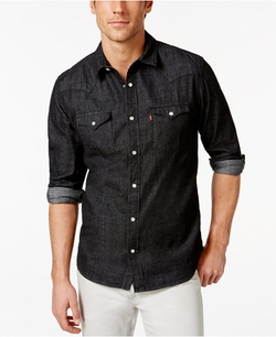 Standard Barstow Western Denim Shirt by Levi's in Hell or High Water