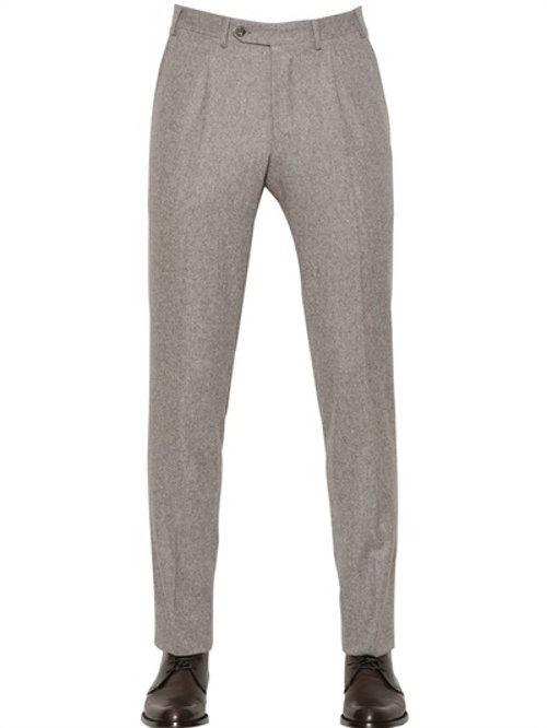 Wool Trousers by Canali in Run All Night