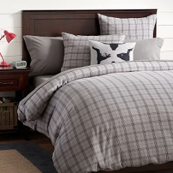 Hayden Plaid Flannel Duvet Cover by PBTeen in Ricki and the Flash