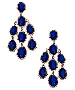 Bianca Chandelier Earrings by Blu Bijoux in Pretty Little Liars