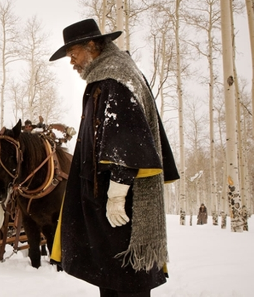 Custom Made 'Major Marquis Warren' Coat by Courtney Hoffman (Costume Designer) in The Hateful Eight