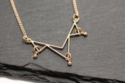 Minimal Necklace by Amyfinedesign in The Vampire Diaries