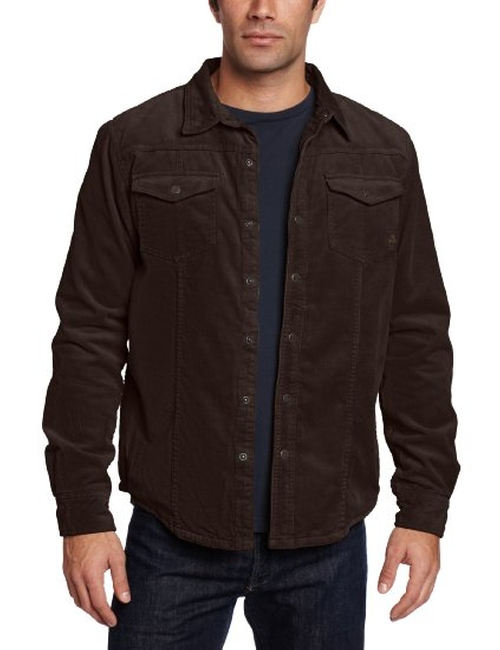 Men's Gomez Long Sleeve Corduroy Shirt by Prana in Supernatural - Series Looks