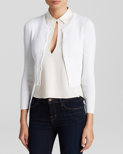 Rulidia Highcott Cardigan by Theory in Suits