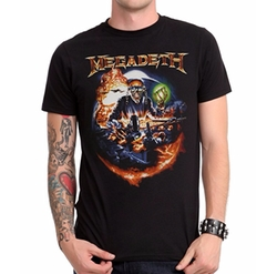 Megadeth Drop Bombs T-Shirt by Hot Topic in Billions