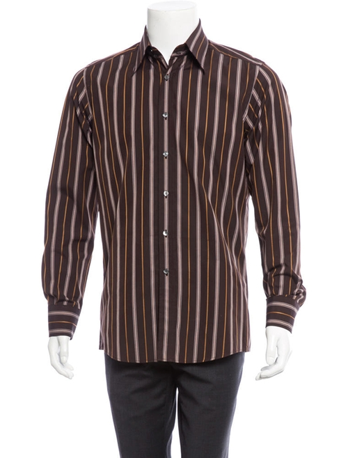 Striped Button-Up Shirt by Dolce & Gabbana in The Best of Me