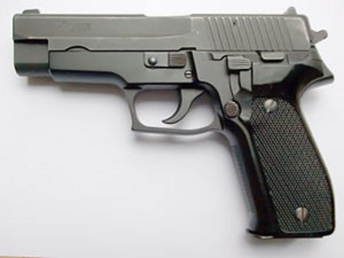 P226 by SIG Sauer in Ride Along