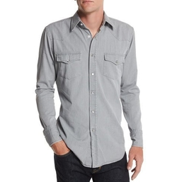Western-Style Denim Shirt by Tom Ford in New Girl