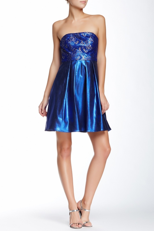 Luisa Strapless Dress by Eva Franco in The Neon Demon