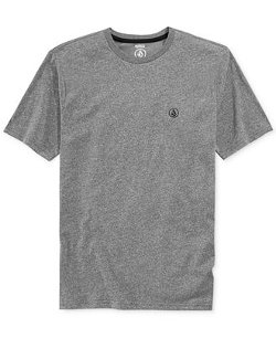 Crew-Neck Mock-Twist T-Shirt by Volcom in That Awkward Moment
