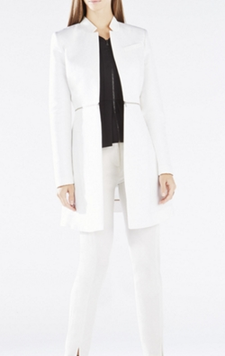Arelia A-Line Coat by BCBGMAXAZRIA in Quantico