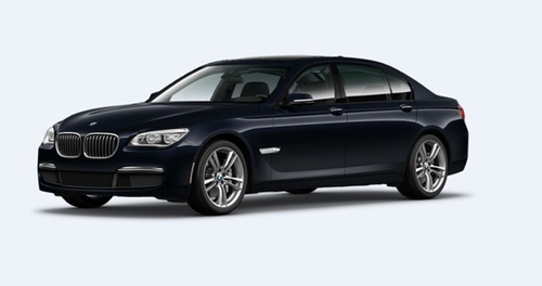 7 Series Car by BMW in Spy