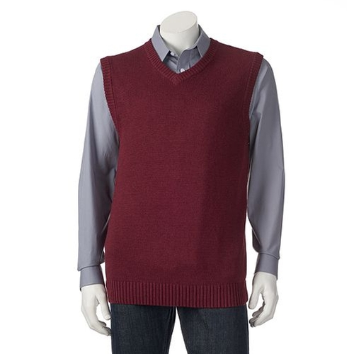Classic-Fit Solid Sweater Vest by Croft & Barrow in The Big Bang Theory - Season 9 Episode 5
