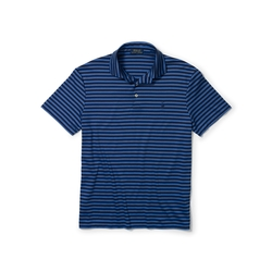 Striped Pima Soft-Touch Polo by Ralph Lauren in The Flash
