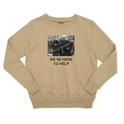 We're Here to Help Crewneck Shirt by Four Two Four On Fairfax in Keeping Up With The Kardashians